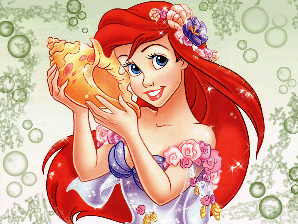 Disney Little Mermaid Princess Wallpaper Backgrounds ...