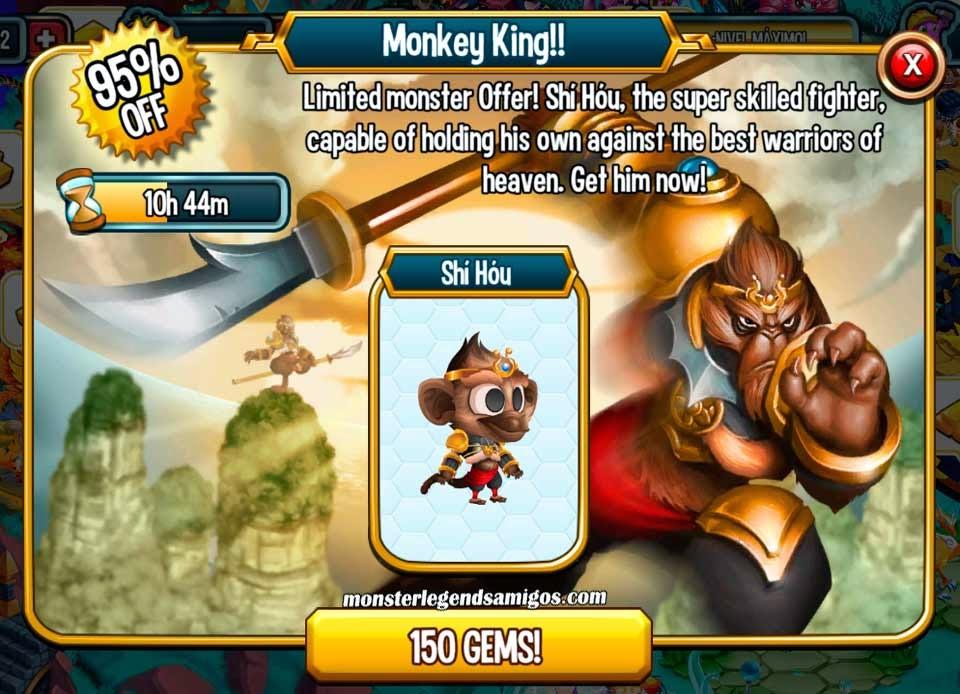 imagen de la oferta especial del monstruo Shí Hóu
