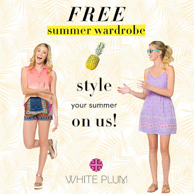 white plum boutique, free wardrobe, free clothes, giveaway, freebie friday, sweepstakes, win free stuff, freebies, summer wardrobe giveaway