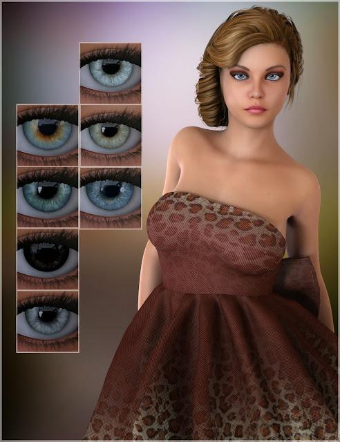 3d Models Art Zone - Hailey for Genesis 2 Female(s)