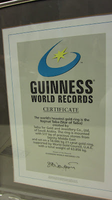 guinness world record Dubai Gold Souk