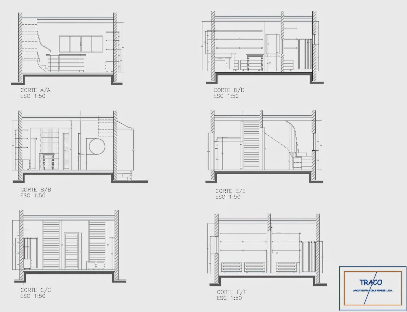Imagens de #8C633F Utilizando o autocad 2d desenvolvendo plantas cortes perspectivas  1600x1228 px 3432 Bloco Cad Banheiro Corte