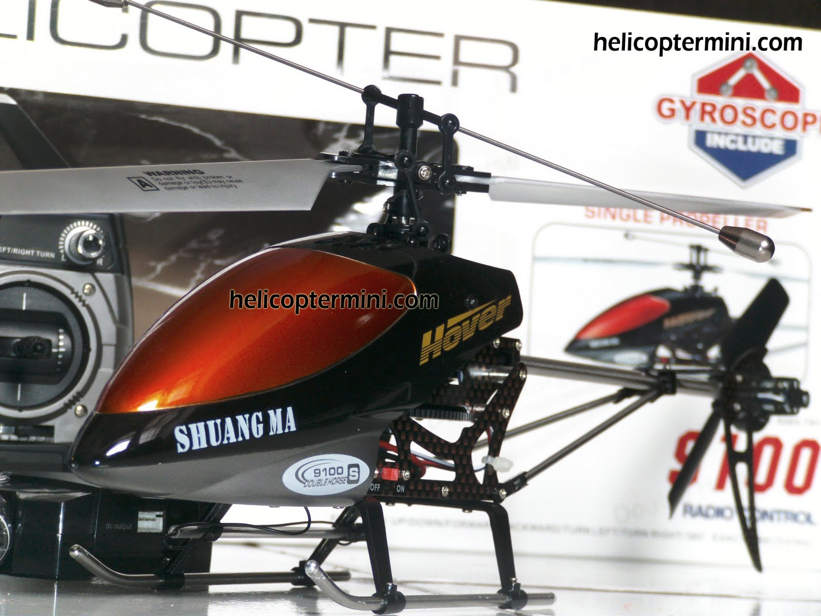 Mainan Remote Kontrol Helicopter Mini