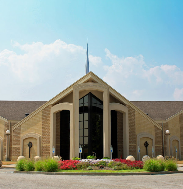 building eternity church landscaping