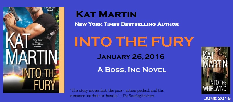 Kat Martin INTO THE FURY