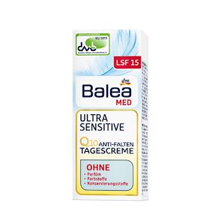 Balea Ultra Sensitive Q10 Tagescreme - www.annitschkasblog.de