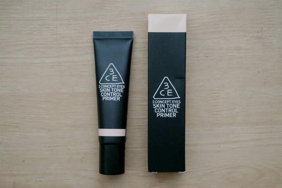 3CE Skin Tone Control Primer in Mild Peach