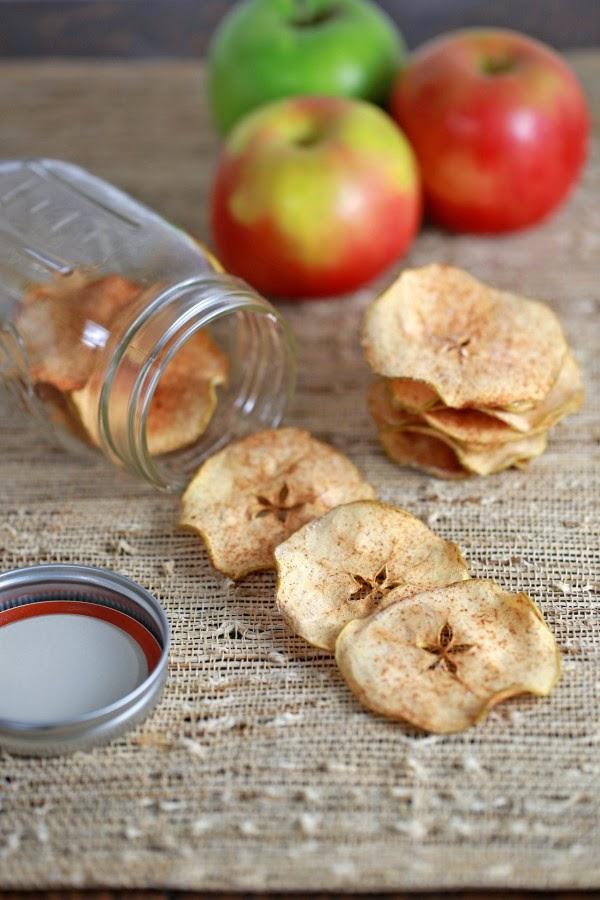 Great Taste, Skinny Waist | dried apples with cinnamon