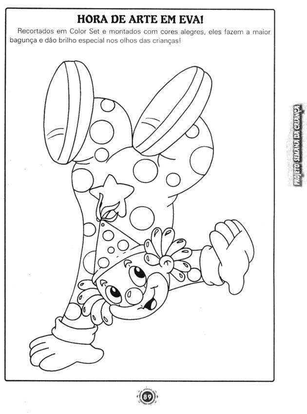 Conhecido Atividades para Imprimir semana da criança - Atividades Pedagógicas VB77