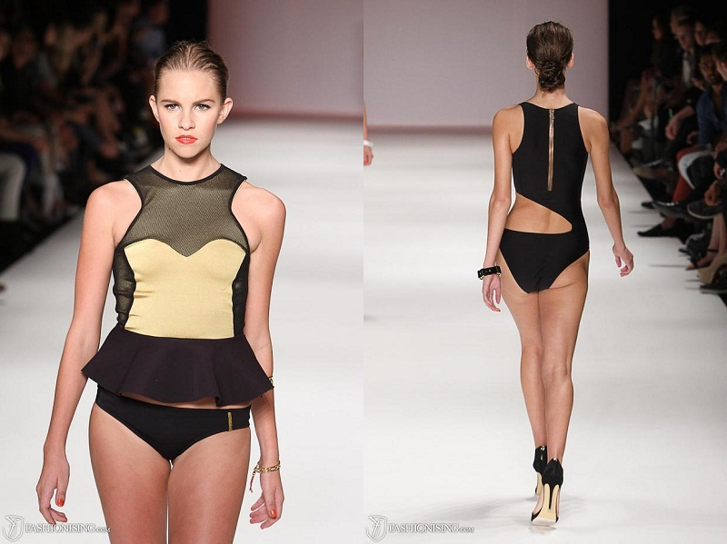 MBFWA, Australian Fashion Week, S/S 2013/14, Group Swim, Day 1, Skye and Staghorn, Scuba, neoprene, sports-luxe, swimwear,