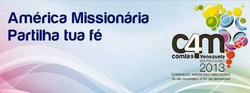 Brasil terá representação no 9º Congresso Missionário na Venezuela