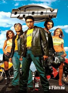 Dhoom 1 2004 poster