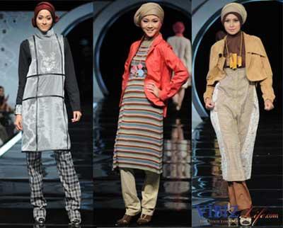 Muslimah Fashion Blogger on Azzura Sabrina S Blog  Trend Baju Muslimah 2011