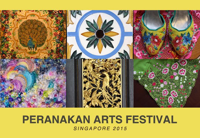 Peranakan Arts Festival Singapore 2015