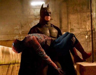 batman and spider man