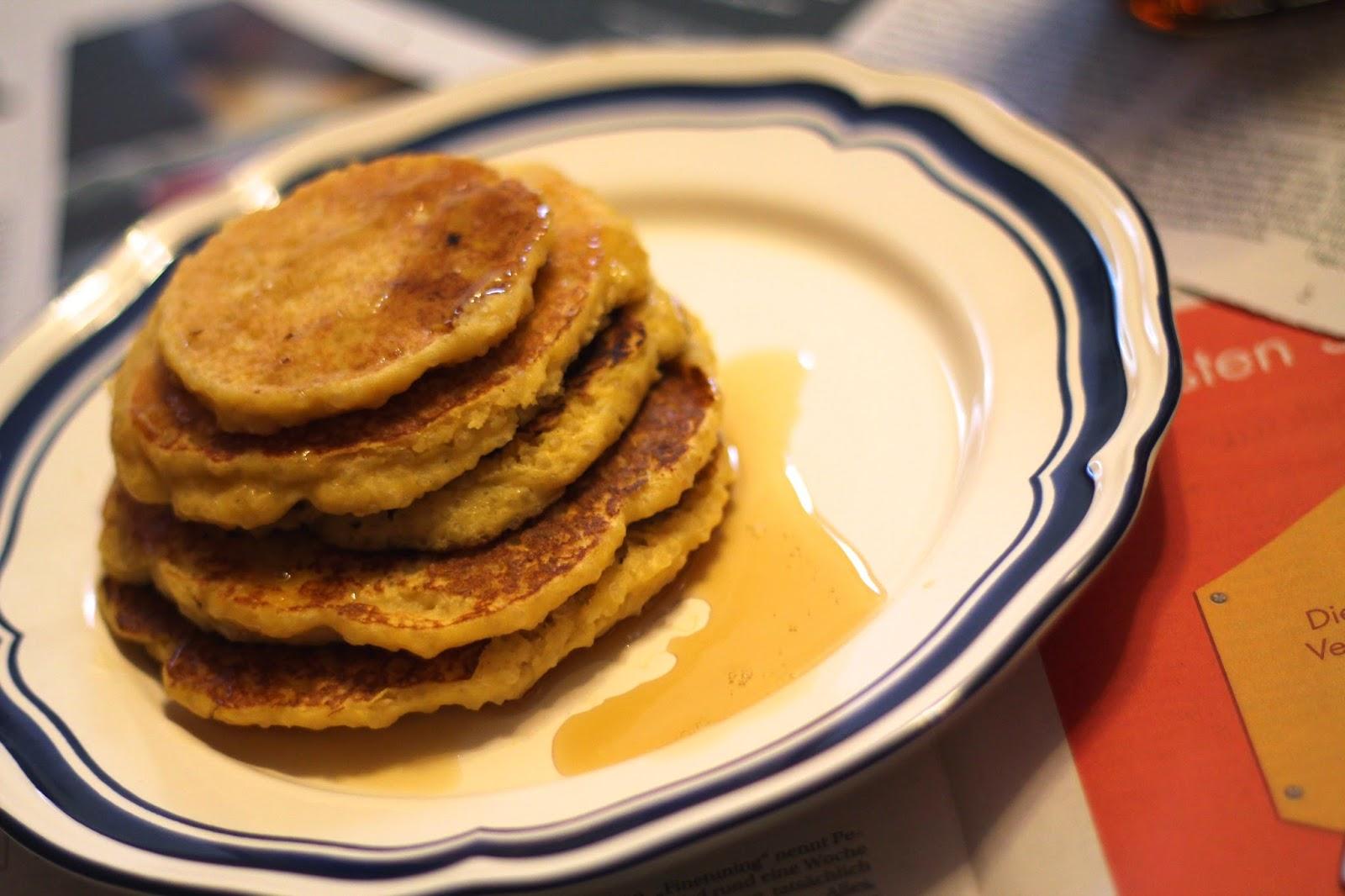 Quinoa Pancakes / Clean Eathing /Gesundes Rezept / GEsunde Pancakes / dm Bio/ #svetlanakocht