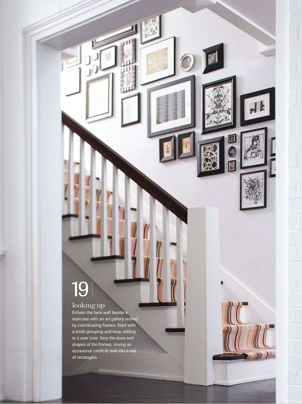 Your source for decorating ideas flaunt your stuff in Design ideas for hallways and stairs