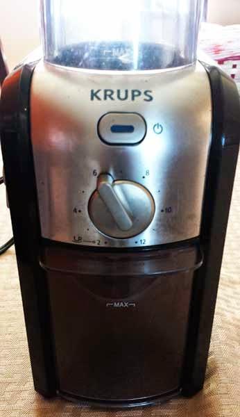 KRUPS GVX212  Burr Coffee Grinder