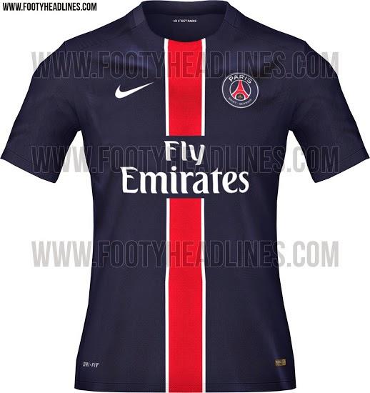 jual jersey dan gambar bocoran jersey PSG home terbaru musim depan kualitas grade ori made in thailand