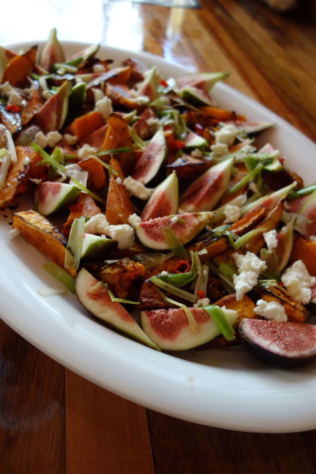 How to make Ottolenghi's roasted sweet potato and fresh fig salad