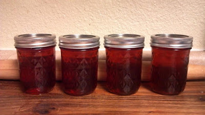 Canning sweet tea jam