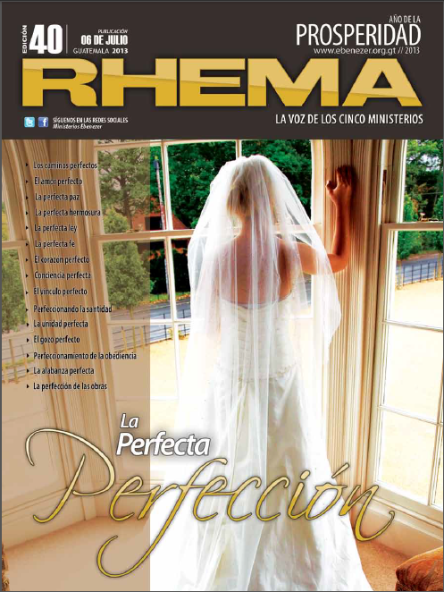 Revista Rhema Julio 2013