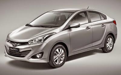 novo carro Hyundai HB20 Sedan 2015