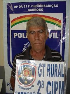 CABROBÓ-PE: Policiais Civis e Militares da Operação Malhas da Lei prendem homem acusado de cometer assassinato