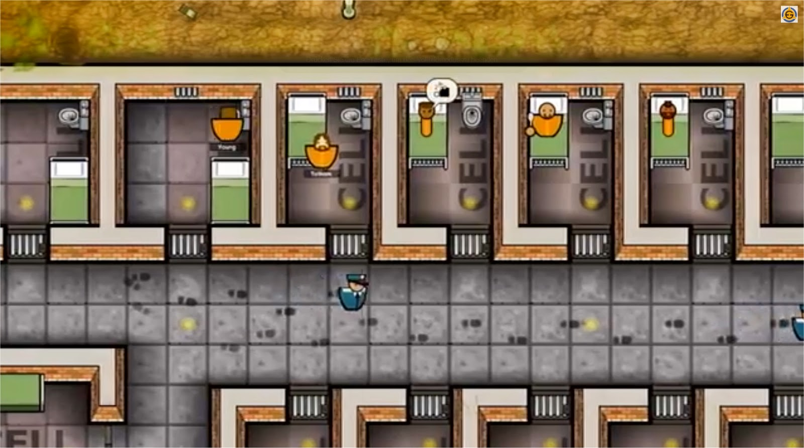 Prison Architect Cells