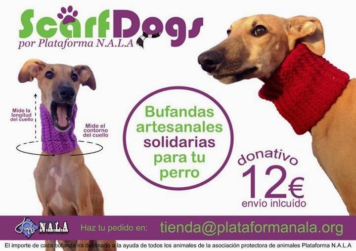 Bufanda perro plataforma Nala Scarf Dogs