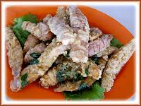 Batter Fried Mantis Prawns