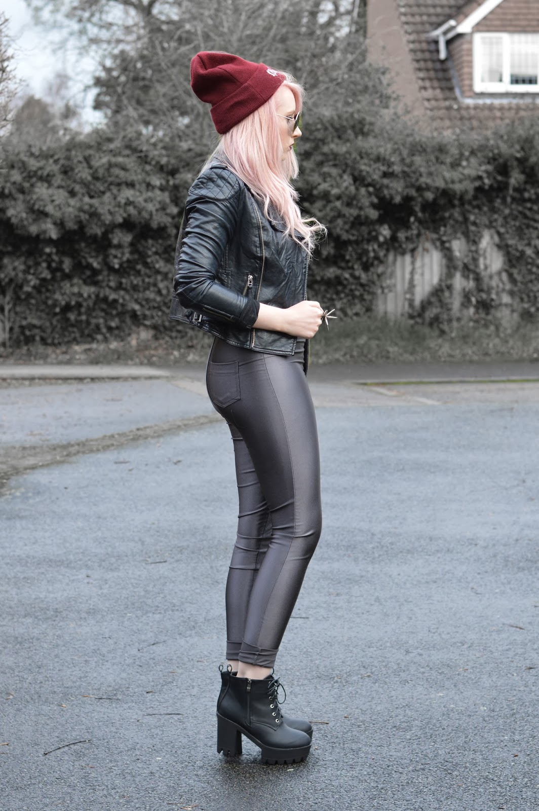Sammi Jackson - Grey Discopants - Look 2
