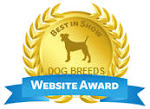 Dogbreedsinfo.org Gives Waterside Yorkies  2012 Award