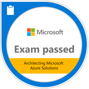 Exam 534: Architecting Microsoft Azure Solutions