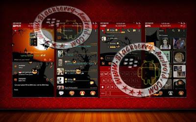 Free BBM Mod Halloween Themes New v2.10.0.31 Apk