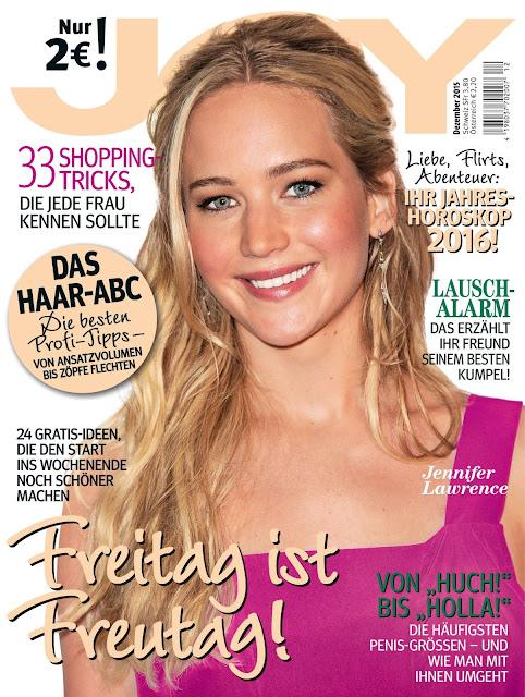 Actress @ Jennifer Lawrence - JOY  Germany, December 2015