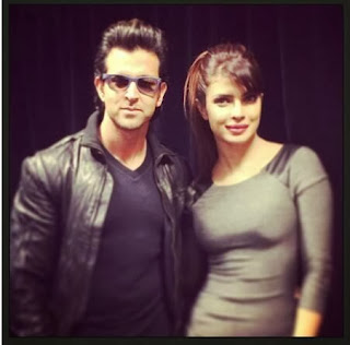 Hrithik and Priyanka promote Krrish 3 at Apple store in London