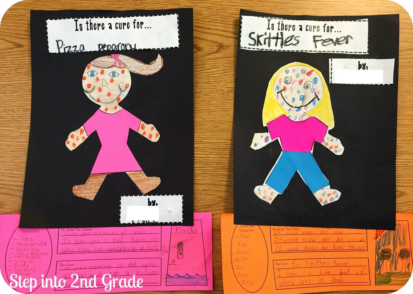 worksheet Chocolate Fever Worksheets step into 2nd grade with mrs lemons chocolate fever fun after coming up their very own they made cover and then a little snapshot of pretend book