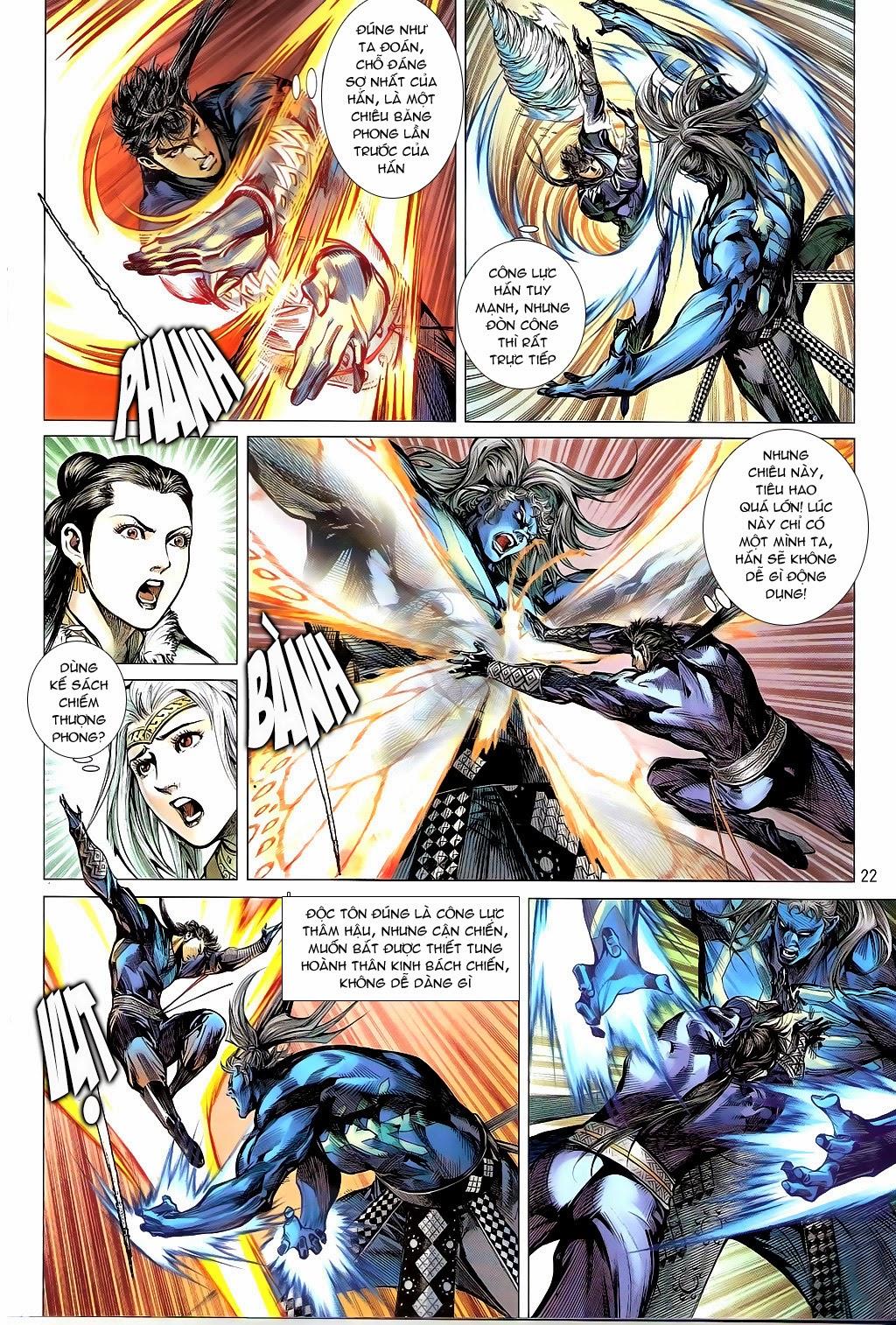 truyện tranh thiết tướng tung hoành Chapter 95/