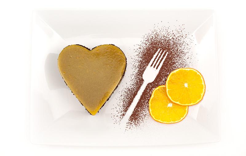Valentinova jaffa tortica / Jaffa valentin cake