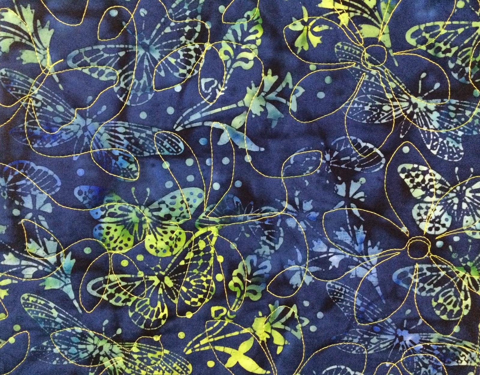 Debbie Seitz's Floating Block Quilt