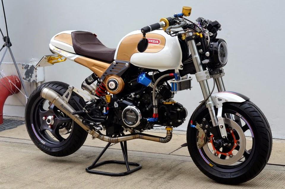 Racing Caf    Honda MSX 125 Special