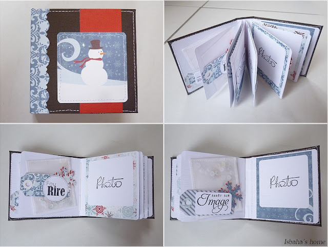 Scrapbooking mini album tutorial