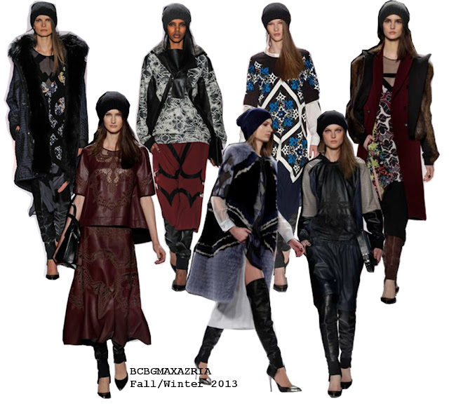 New York Fashion Week - BCBG MAXAZRIA Fall/Winter 2013