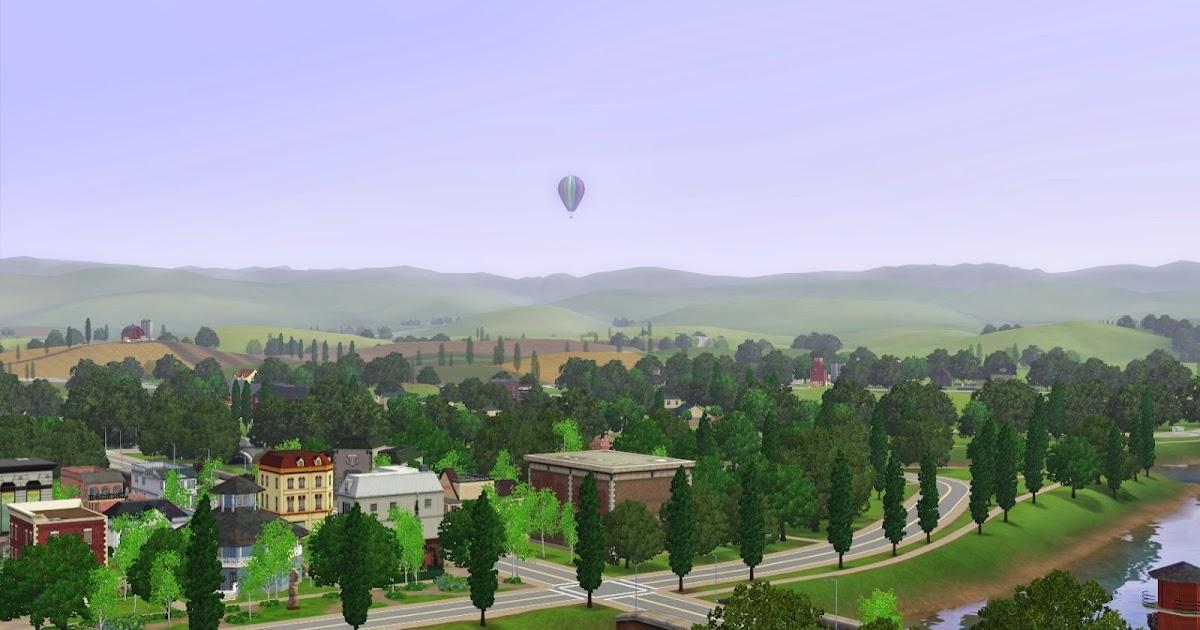 Summer 39 S Little Sims 3 Garden Riverview List Of Community