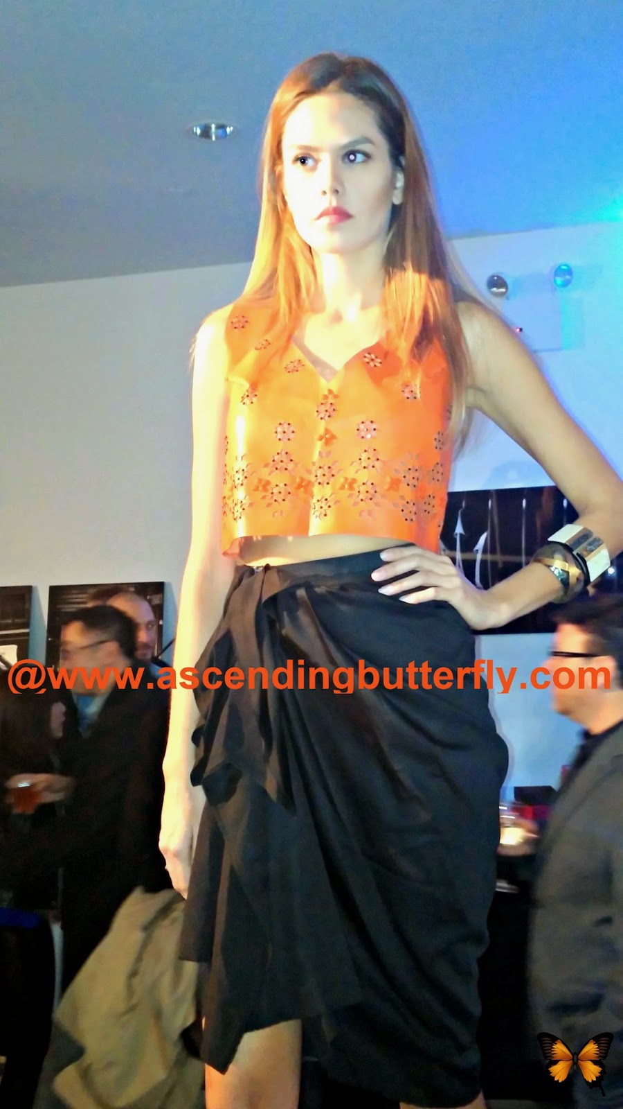 Gnossem Fashion Preview Maserati NYC Showroom February 2013, Tops, Blouse, Skirt