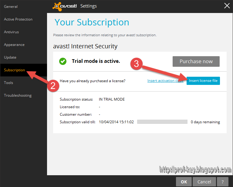 تفعيل برنامج avast-internet-security-2015-1002208 مدة سنة واحدة