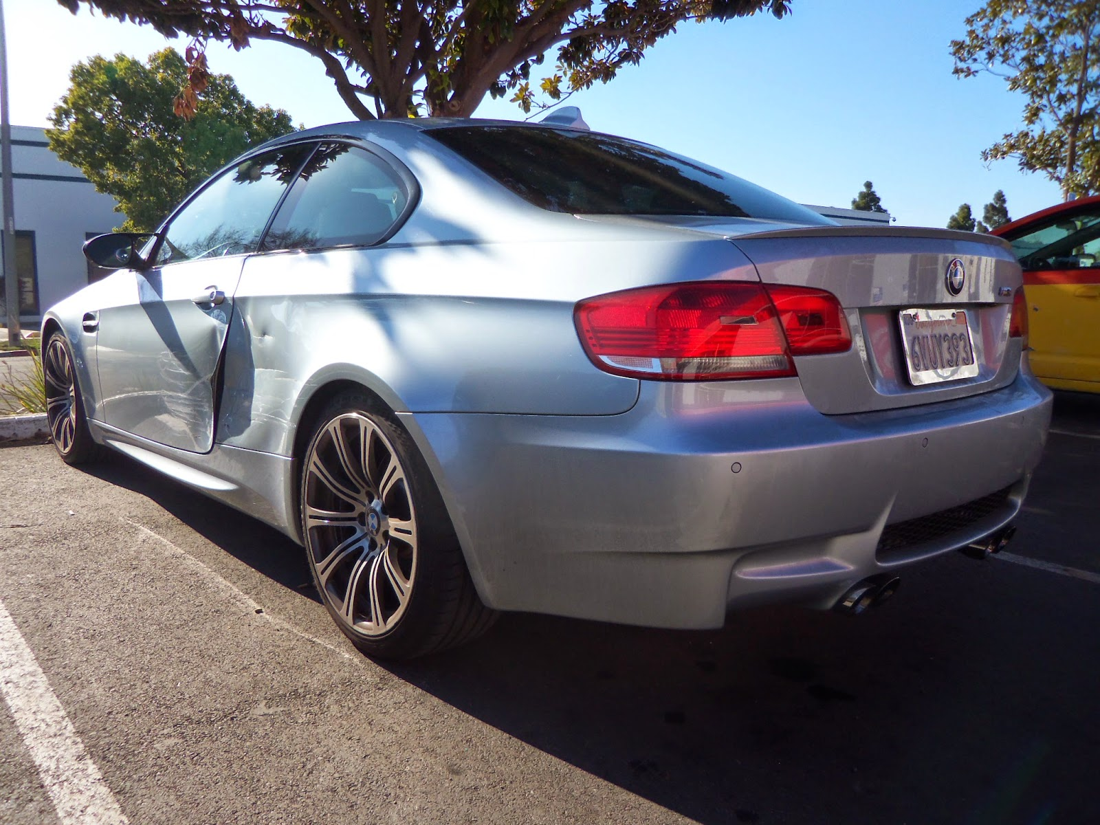 BMW M3 before Collision Repair at Almost Everything Auto Body