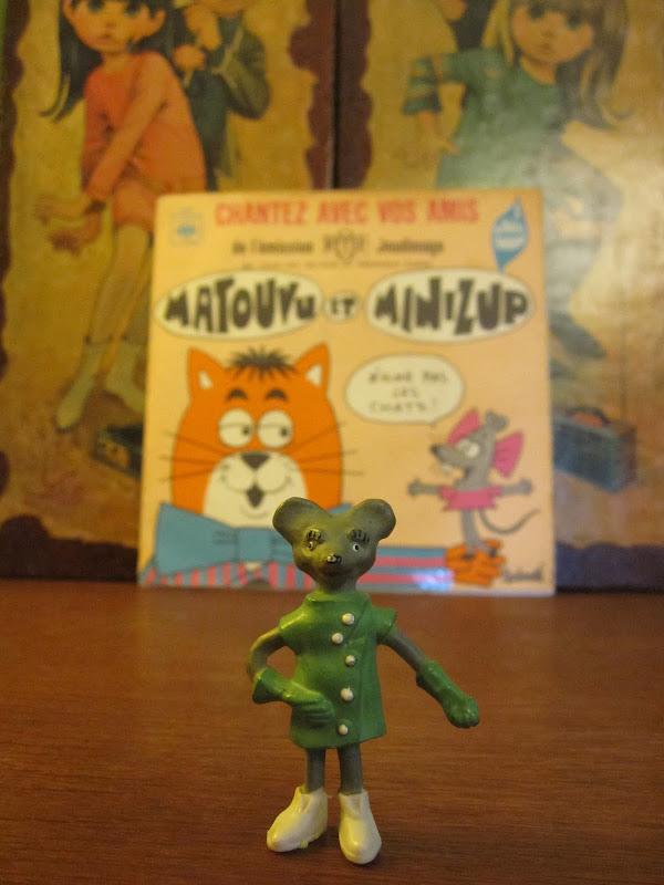 Minizup et Matouvu - La chanson de Minizup - 1967 ortf cbs record France