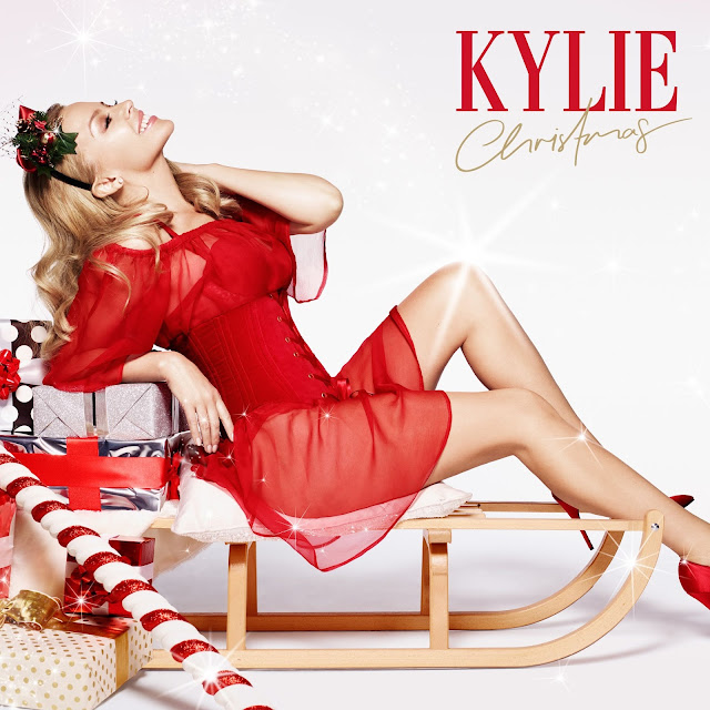Green Pear Diaries, música, álbum, Kylie Minogue, Kylie Christmas, album cover